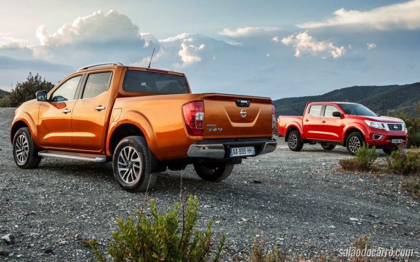 Nova Frontier? Nissan mantém em segredo o carro que será lançado no Salão do Automóvel