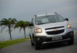 Teste da Chevrolet Spin Activ 2017