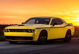 Challenger Hellcat da Dodge será o sedã mais potente no Salão do Automóvel