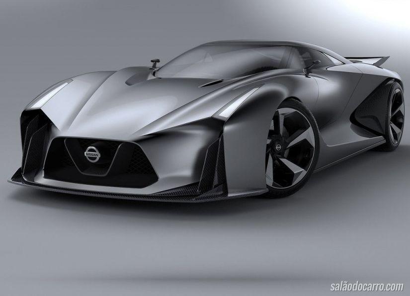 Nissan Concept 2020 Vision Gran Turismo é a visão da Nissan do futuro