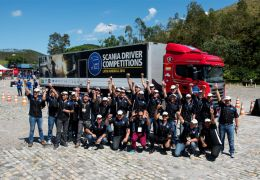 Scania realiza final brasileira do Scania Driver Competitions