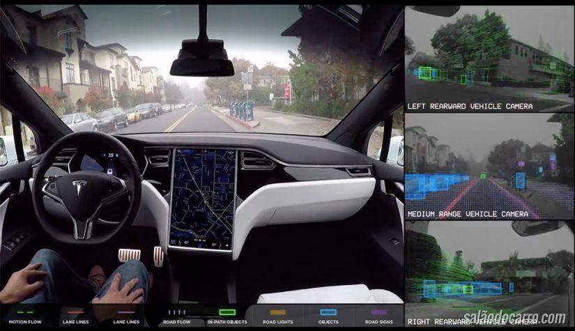 Vídeo mostra como é dirigir um Tesla ao som de Rolling Stones