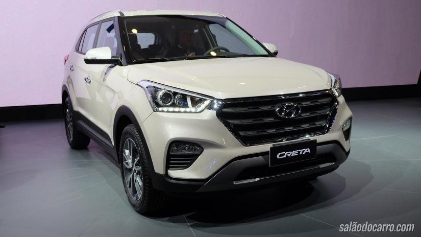 Hyundai apresenta novo SUV Creta que parte de R$ 69.990