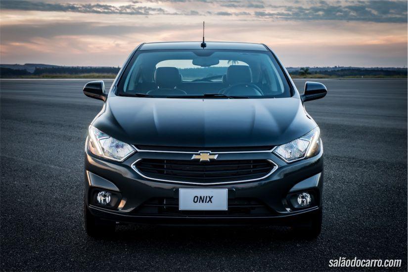 Onix é o carro mais vendido do Brasil em 2016