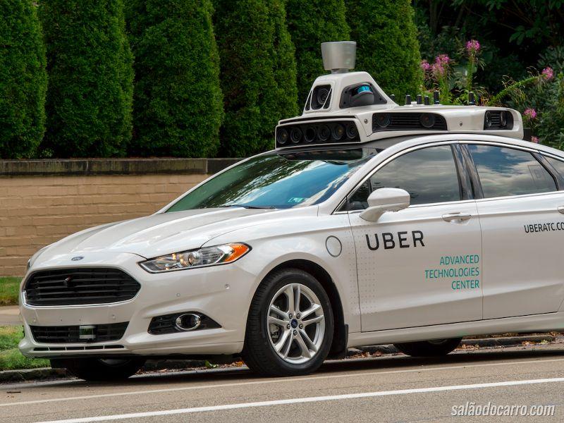 Carro autônomo do Uber é barrado na Califórnia