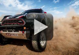 Mini apresenta, em vídeo, carro para o Rally Dakar