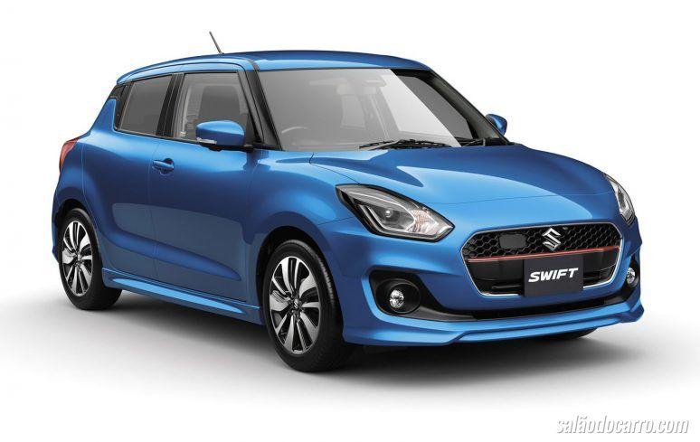 Suzuki apresenta Swift 2017