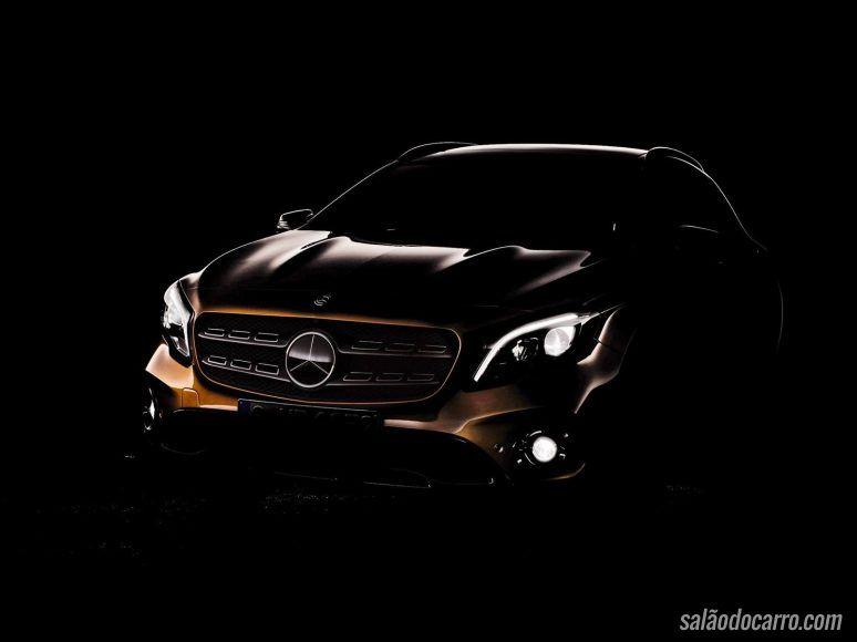 Novo Mercedes-Benz GLA aparece em primeiro teaser