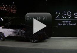Carro do futuro dá vexame na CES 2017