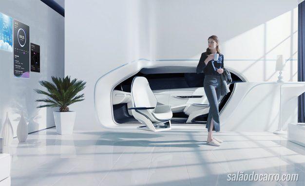 Carros do futuro serão mais integrados com a casa