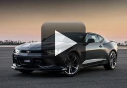 Vídeo mostra o som do motor do Chevrolet Camaro SS