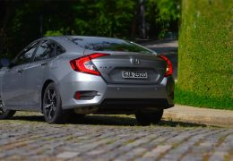 Teste do novo Honda Civic Touring