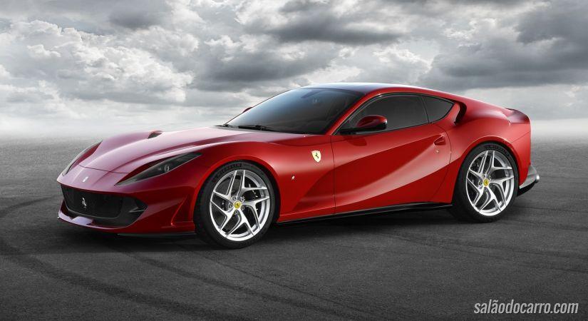 Ferrari apresenta motor V12 de 800 cv