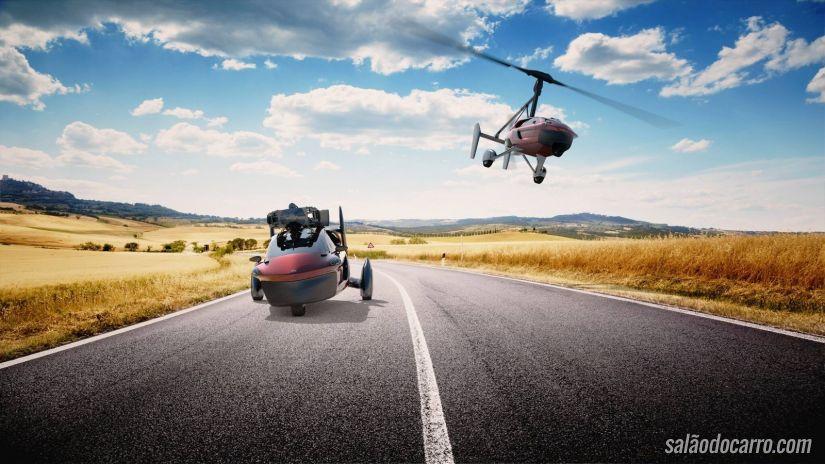 Carro voador já pode ser encomendado