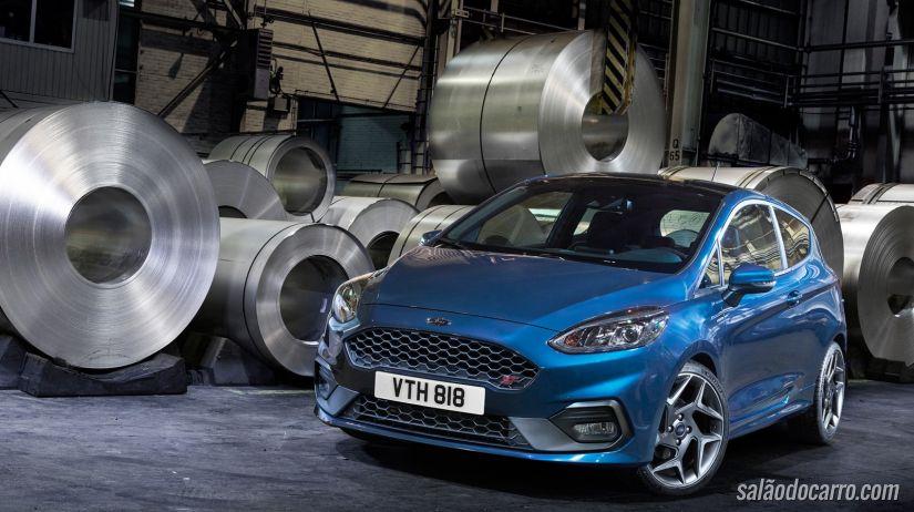 Ford apresenta novo Fiesta ST