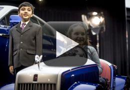 Rolls-Royce cria modelo de carro para crianças usarem dentro de hospitais