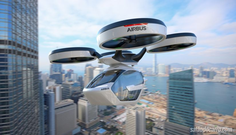 Empresa de avião apresenta conceito de carro voador