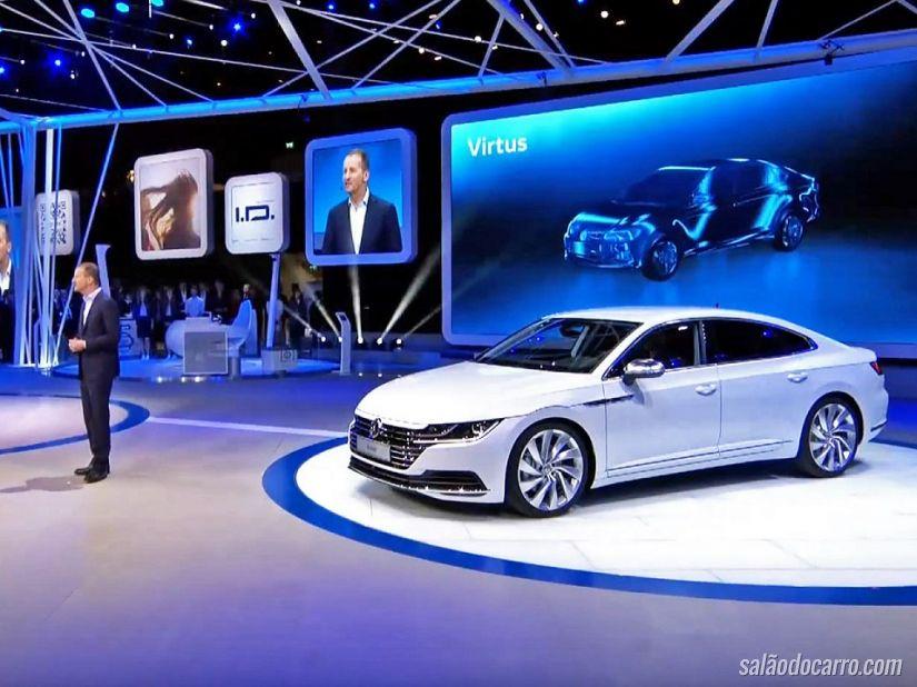 Volkswagen vai lançar Virtus no Brasil