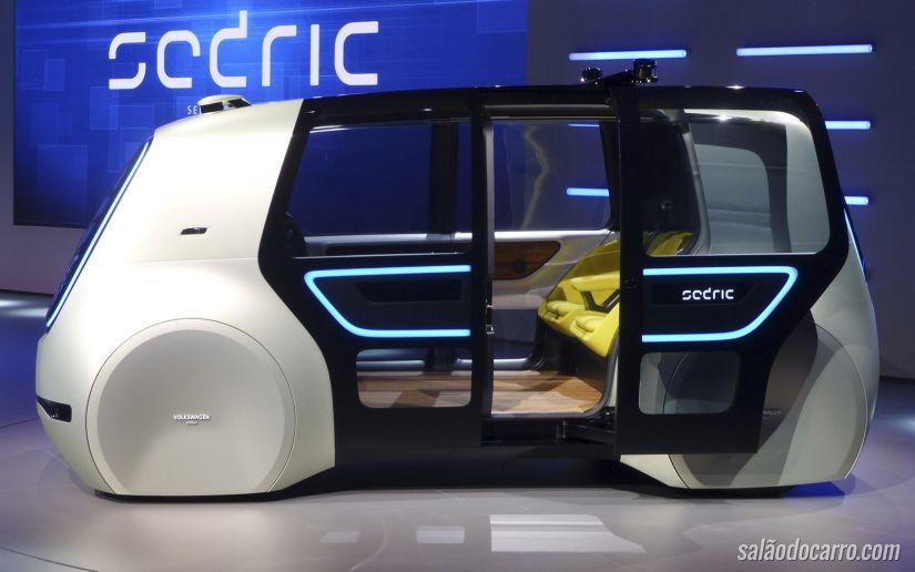 Sedric é o carro conceito completamente autônomo da Volkswagen