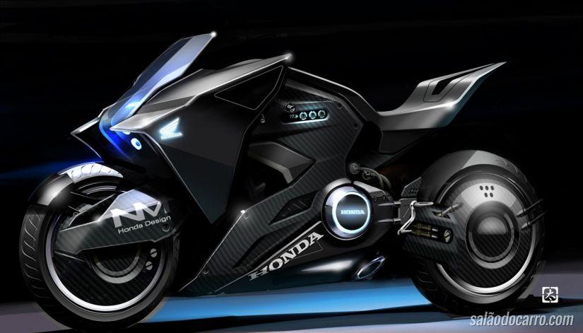 """Confira a moto criada pela Honda para o filme """"Vigilantes do Amanhã"""""""