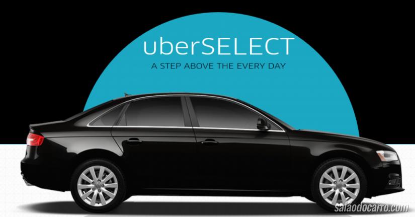 Uber oferece nova categoria de carros no Brasil