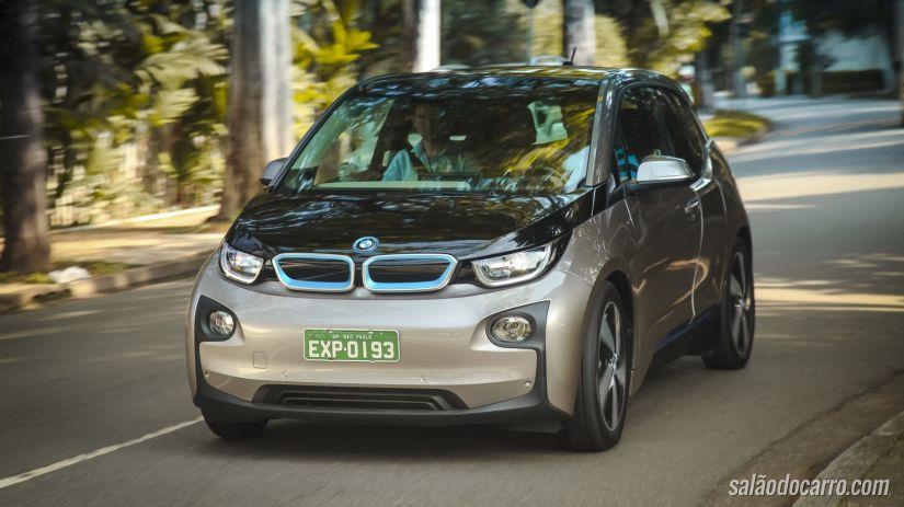 Elétrico da BMW passa por recall