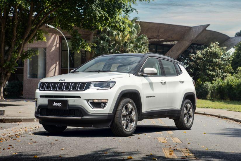 Jeep chama Compass para recall no Brasil