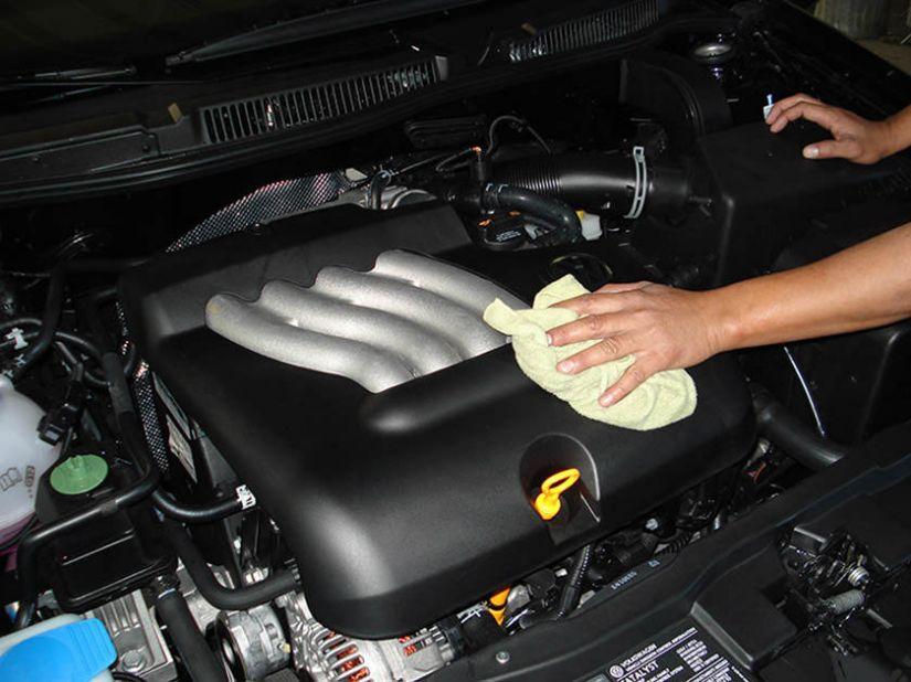 Dicas para manter o motor do carro limpo