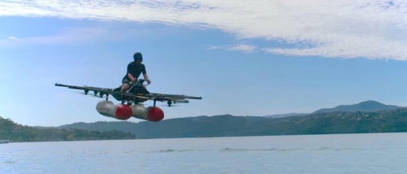 Fundador do Google mostra primeiro vídeo de veículo voador