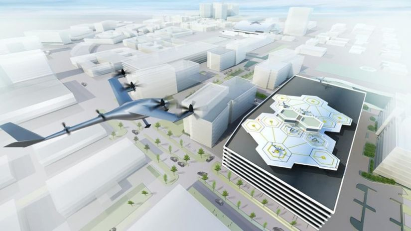 Embraer fecha parceria com Uber para conceito de carro voador