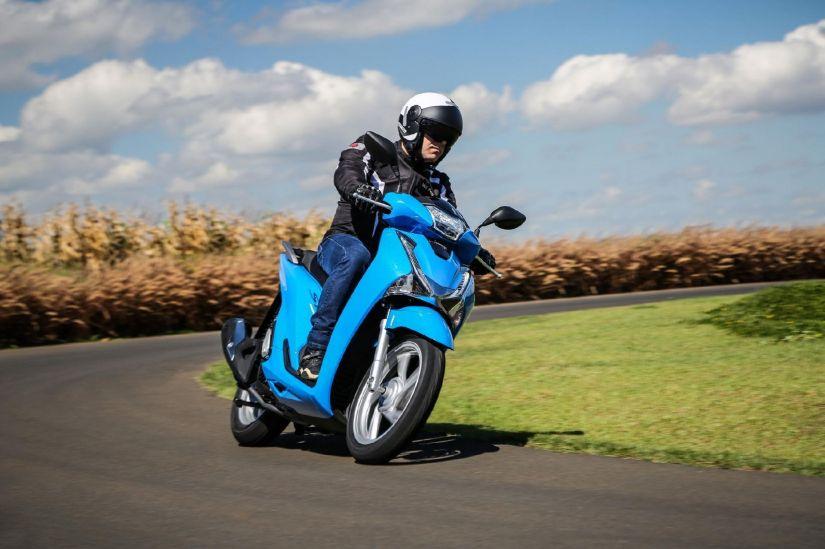 Honda SH 150i oferece mais tecnologia e reduz consumo