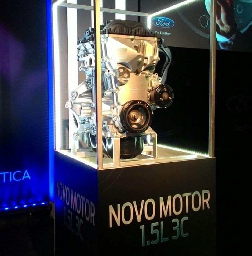 Novo motor 1.5 de 3 cilindros da Ford já está disponível no Brasil