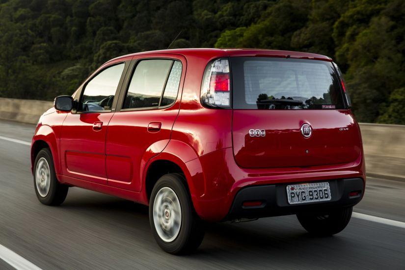 Fiat Uno fica mais barato na linha 2018