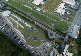 Apresentação do campo de provas para caminhões e ônibus MAN/Volkswagen