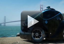 Empresa lança modelo de carro-robô policial