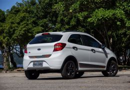 Teste do Ford Ka Trail 1.0