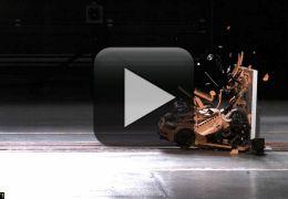 Porsche de Lego passa por crash-test