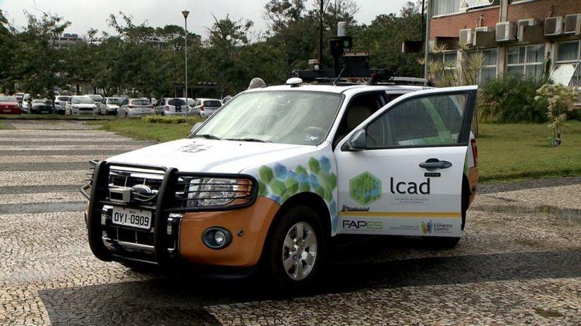 Ufes faz teste com carro autônomo brasileiro