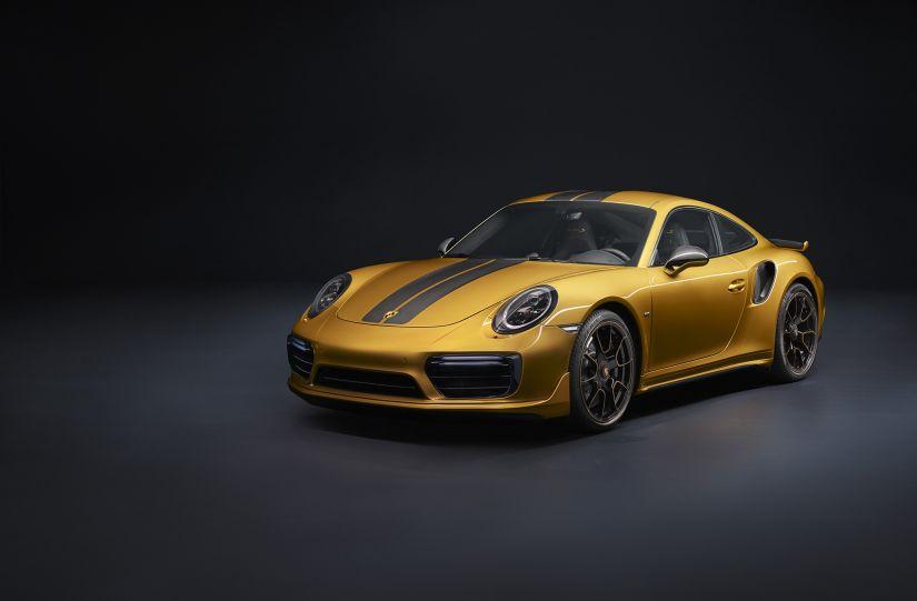 Série limitada do 911 Turbo S será vendida no Brasil
