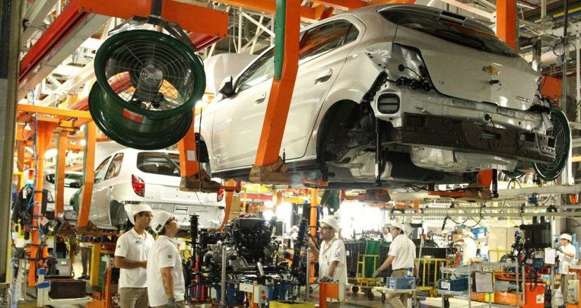 Brasil registra aumento de 23% na produção de carros no 1º semestre