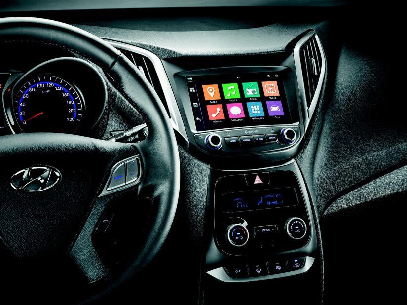 Hyundai oferece opção de central multimídia em mais versões do HB20 2018