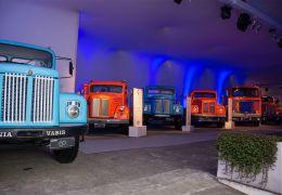 Scania comemora 60 anos de Brasil com exposição de dez modelos históricos na fábrica de São Bernardo do Campo