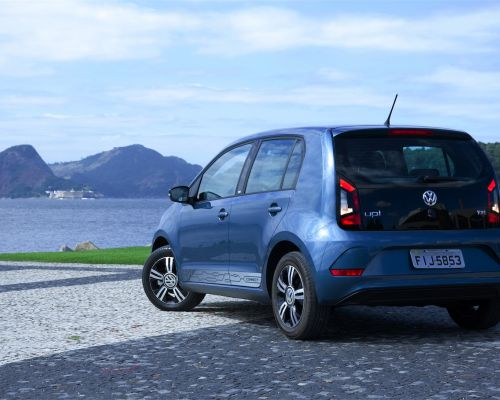 Teste do Volkswagen up! Connect 2018