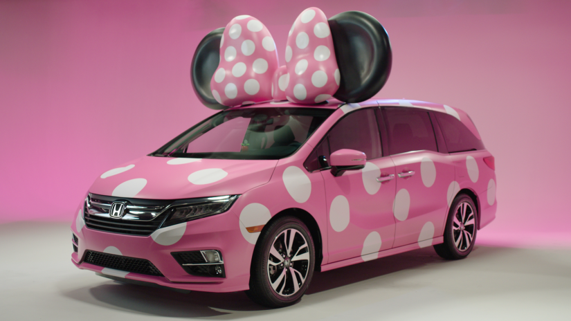 """Conheça a """"Minnie Van"""" da Honda"""