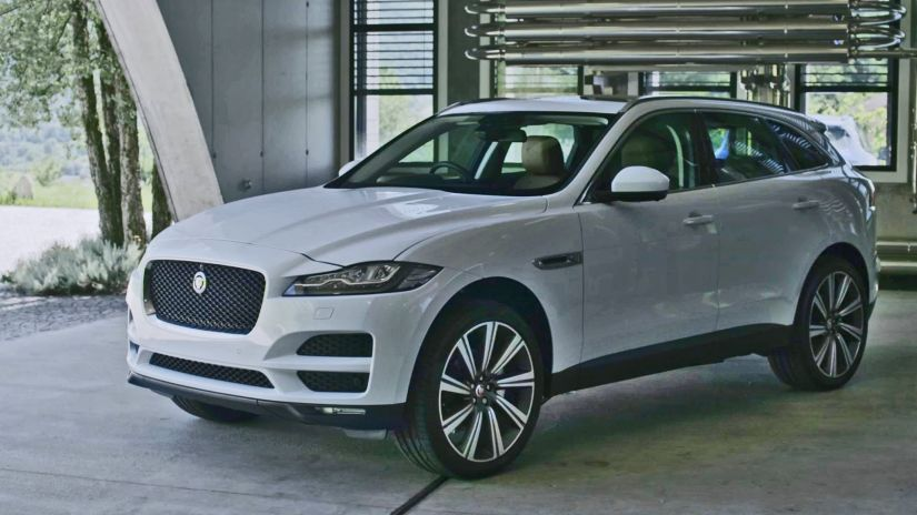 Jaguar convoca recall do F-Pace