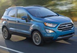 Ford confirma preços de lançamento do EcoSport 2018 no Brasil