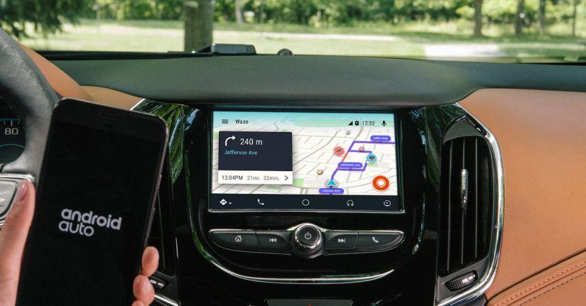 Android Auto passa a contar com Waze