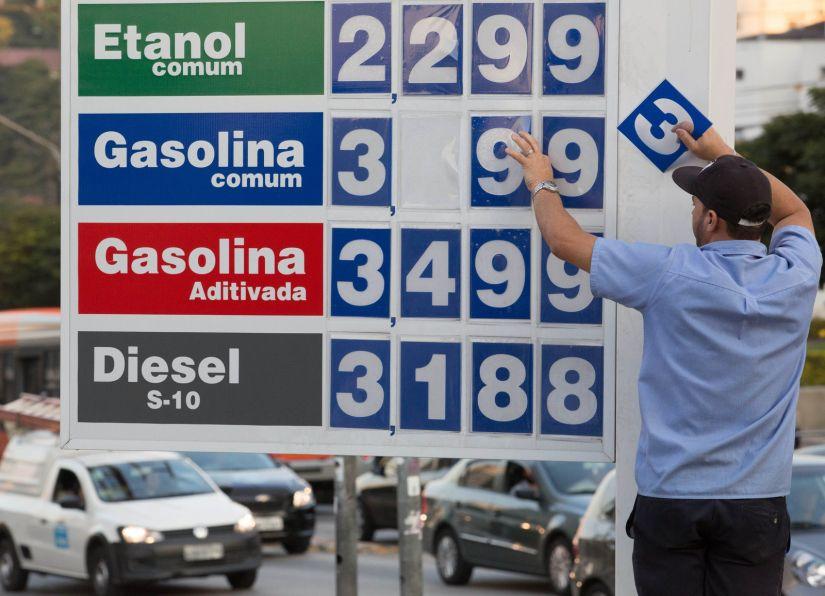 ANP afirma que combustíveis subiram mais de 8% depois de aumento dos impostos