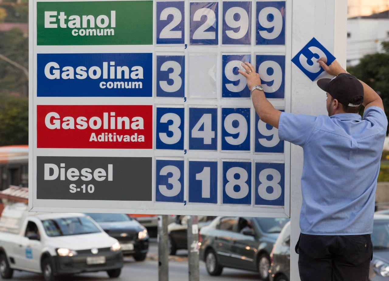 Litro da gasolina no Ceará chega a R$ 4,70, diz ANP