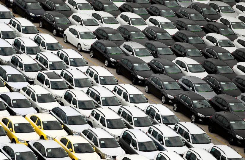 Venda de carros cresce 1,9% em julho